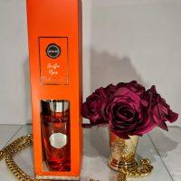 Amber Noir Reed Diffuser - Shaped Glass Bottle - 300ml