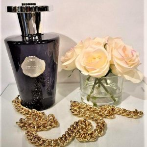 'Black Forest' Reed Diffuser - Shaped Black Glass Bottle - 1000ml