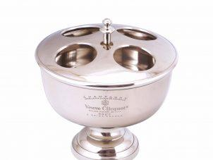 Wine Cooler - Table Top Wine/Champagne Ice Bucket - Polished Chrome