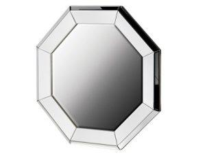 Wall Mirror - Octagon Design - Bevel Mirrored Glass