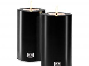 Never Ending Candle - Superb Designer T Light Holder - Black Finish