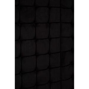 5ft 4 Poster Bed King-Size Bed - Chrome Surround - Paramount Black Velvet