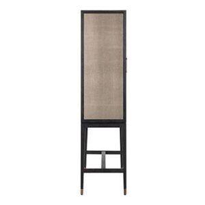Drinks Bar Cabinet - 2 Door - Glass Shelves - Inlaid Oak Lined - Banbury Range