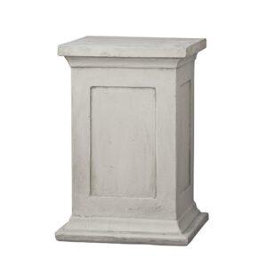 Designer Garden Plinth - Cement Finish - Light Cream