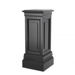 Plinth/Column - Small Square Column - Dorchester Black Range