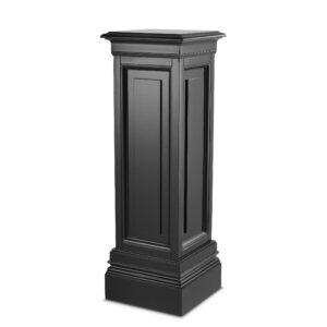 Plinth/Column - Medium Square Column - Dorchester Black Range