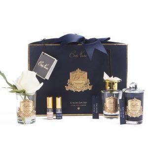 'Reine de la Nuit' Luxury Cote Noire Flower Diffuser Gift Set - Black Box