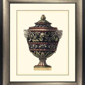 'Antonini Urns I' Artwork - Bronze Frame & Glass - Antonini DaCarlo