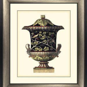'Antonini Urns II' Artwork - Bronze Frame & Glass - Antonini DaCarlo